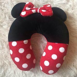 Minnie Mouse Neck Pillow Travel Disney